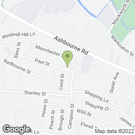 Map of Cocco Hairdressing & Beauty in Derby, derbyshire
