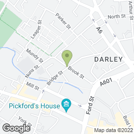 Map of Ewan Mathers Photography in Derby, derbyshire