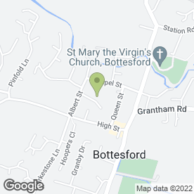 Map of Drs Glencross S.J & K Dixon in Bottesford, Nottingham, nottinghamshire