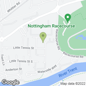 Map of Academe Roofing Services Ltd in Colwick, Nottingham, nottinghamshire