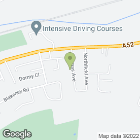 Map of SAF Plumbing & Heating in Radcliffe-on-Trent, Nottingham, nottinghamshire
