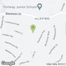 Map of City Leisure Hire Ltd in Allestree, Derby, derbyshire