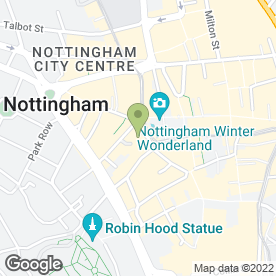 Map of Cheltenham & Gloucester plc in Nottingham, nottinghamshire