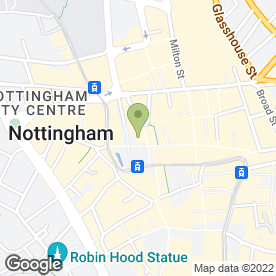 Map of B S Social Care in Nottingham, nottinghamshire