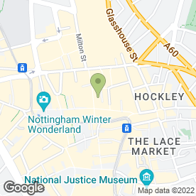 Map of Phones 4U Ltd in Nottingham, nottinghamshire