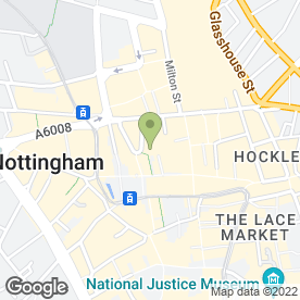Map of Pronuptia Bridal & Mens Formal Wear in Nottingham, nottinghamshire