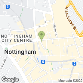 Map of Cope Jewellers in Nottingham, nottinghamshire