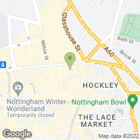 Map of Karolanne Bridalwear in Nottingham, nottinghamshire