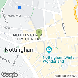 Map of Earlycare in Nottingham, nottinghamshire