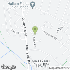 Map of Langley Mill Contract Flooring Ltd in Quarry Hill Industrial Estate, Ilkeston, derbyshire