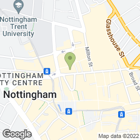Map of Thomas James Estate & Letting Agents in Nottingham, nottinghamshire