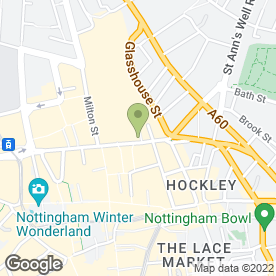 Map of Timpson Locksmith & Safe Engineers in Nottingham, nottinghamshire