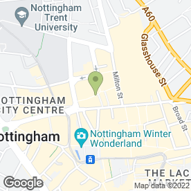 Map of You in NOTTINGHAM, nottinghamshire
