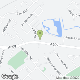 Map of The Wollaton Health & Beauty in Nottingham, nottinghamshire