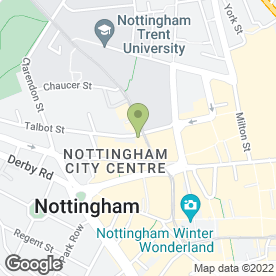 Map of Mega Close in NOTTINGHAM, nottinghamshire