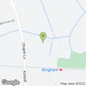 Map of Osteopoise Healthcare Ltd in Bingham, Nottingham, nottinghamshire