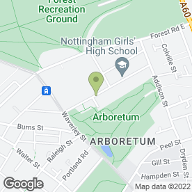 Map of STEPPING STONES DAY NURSERY in Nottingham, nottinghamshire