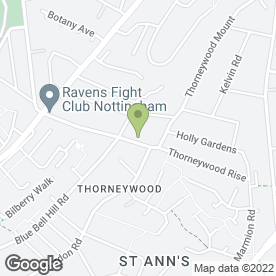 Map of andes plumbing services @ thorneywood / Carlton/ West Bridgeford in Nottingham, nottinghamshire