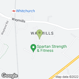 Map of PRINT MONKEY (WHITCHURCH) in Waymills, Whitchurch, shropshire