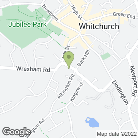 Map of DENMANS OF WHITCHURCH in Whitchurch, shropshire