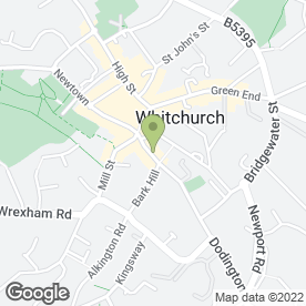 Map of Puter Geek in Whitchurch, shropshire
