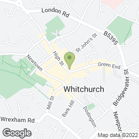 Map of HSBC Bank plc in Whitchurch, shropshire