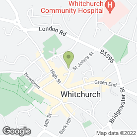 Map of A To Z Removals in Whitchurch, shropshire