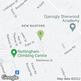 Map of AIRTOOLS & COMPRESSORS in New Basford, Nottingham, nottinghamshire