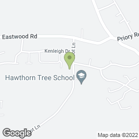 Map of Hawthorn Tree Community Childrens Centre in Boston, lincolnshire