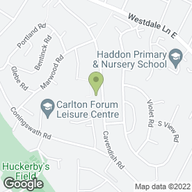Map of S.A SMITH PLUMBING & HEATING in Carlton, Nottingham, nottinghamshire