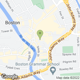 Map of Savers Health & Beauty plc in Boston, lincolnshire