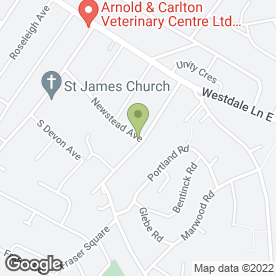 Map of Dean McKay Transport in Mapperley, Nottingham, nottinghamshire