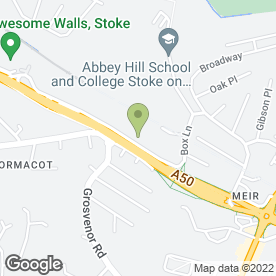 Map of Hazel Blakeman Animal Clinic in Stoke-On-Trent, staffordshire