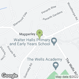 Map of BMS Group in Nottingham, nottinghamshire