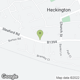 Map of Capricorn First Aid Training in Heckington, Sleaford, lincolnshire