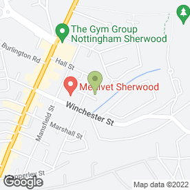 Map of ABSOLUTE PLUMBING & HEATING in Nottingham, nottinghamshire