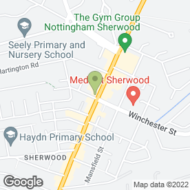 Map of Golden Grill in Nottingham, nottinghamshire