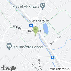Map of NOTTINGHAM REMOVALS & STORAGE in Old Basford, Nottingham, nottinghamshire