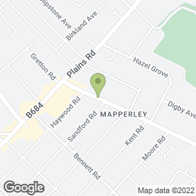 Map of Westdale Dental in Mapperley, Nottingham, nottinghamshire