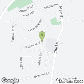 Map of Anastasia Designs in Awsworth, Nottingham, nottinghamshire