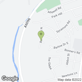 Map of Royal Plastering in Awsworth, Nottingham, nottinghamshire