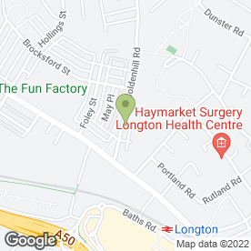 Map of Longton Timber & DIY Ltd in Stoke-On-Trent, staffordshire