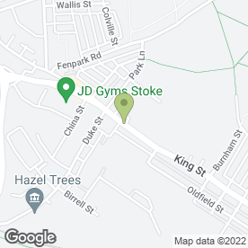 Map of TITAN in Stoke-On-Trent, staffordshire