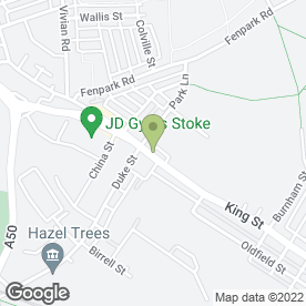 Map of Cropper Grounds Maintenance in Stoke-On-Trent, staffordshire