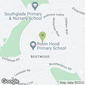 Map of Capewell Exterior Cleaning in Nottingham, nottinghamshire
