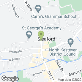 Map of Pygott & Crone in Sleaford, lincolnshire