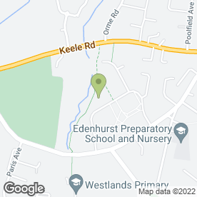 Map of Olympic Tree Surgeons in Newcastle, staffordshire