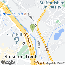 Map of Grindeys Solicitors in Stoke-On-Trent, staffordshire
