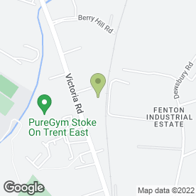 Map of Armadillo Self Storage Stoke in Stoke-On-Trent, staffordshire