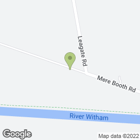 Map of A.R Green in Antons Gowt, Boston, lincolnshire